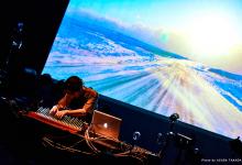 Ametsub playing the Mbira. Photo by Azusa Takada.