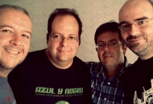 El equipo de Amuza Producciones